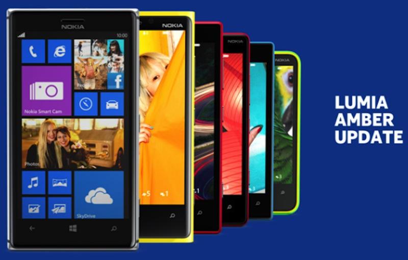 Nokia Lumia Amber Actualización Amber de Windows Phone 8 comienza a llegar a los Nokia Lumia