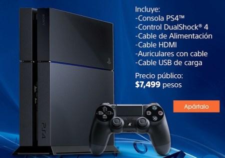 Comprar PlayStation 4 en preventa desde la tienda en línea de Sony
