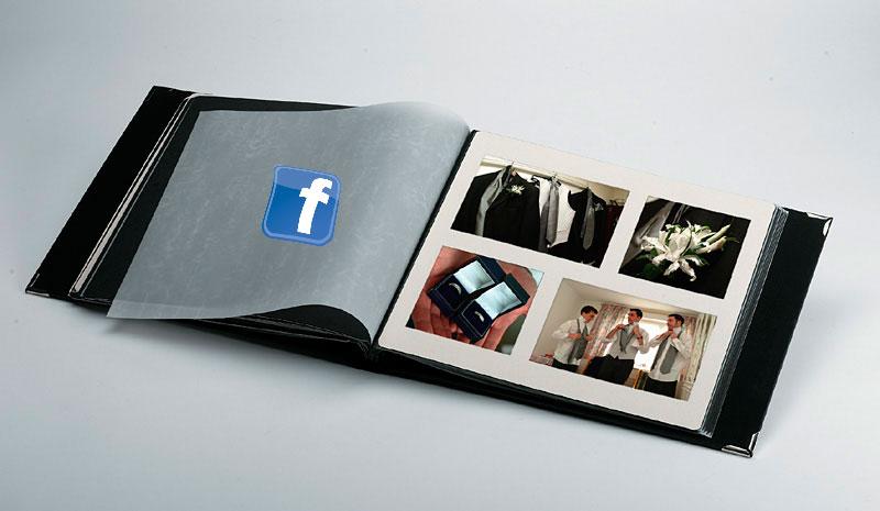facebook presenta sus álbumes de fotos compartidos