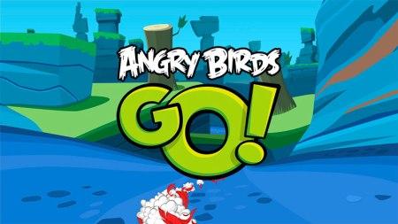 Los pájaros le entran a los juegos de carreras en Angry Birds Go!