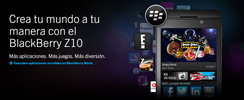 BlackBerry crea página con aplicaciones más destacadas para México en su tienda BlackBerry World - blackberry-top-apps-mexico