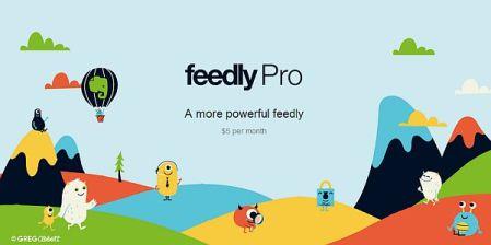 Feedly presenta su versión PRO con mejoras en seguridad y búsquedas