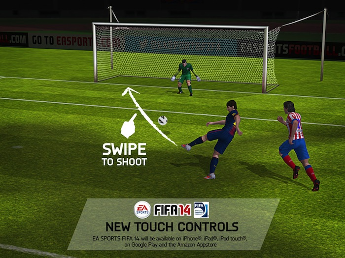 fifa14 ios 01 FIFA 14 para iOS y Android será free to play