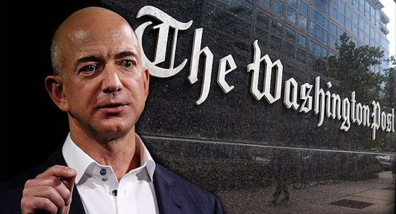 jeff bezos washington post Jeff Bezos, creador de Amazon, compra el diario The Washington Post por 250 millones de dólares