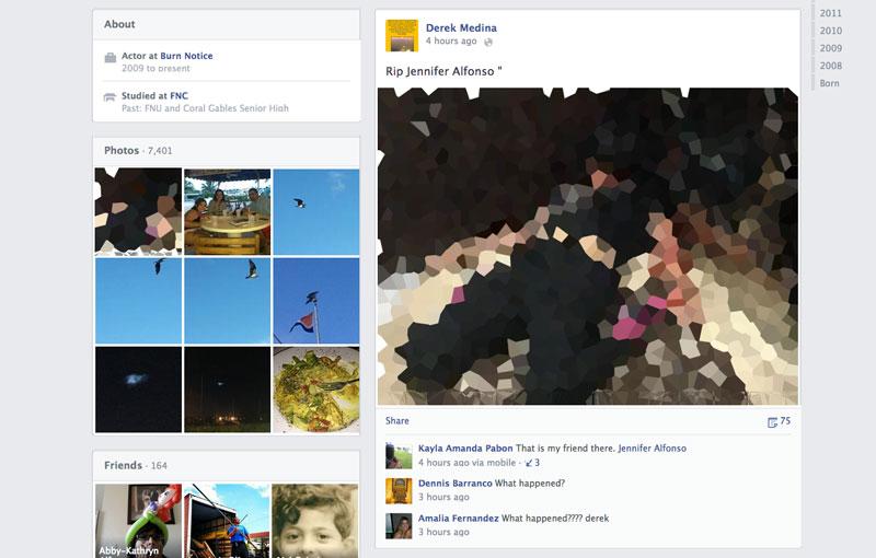 publica esposa muerta facebook Hombre anuncia en Facebook que asesinó a su esposa