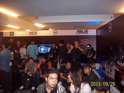 La laptop ASUS G750 demostró su poderío en el torneo Republic of Gamers (ROG) - 100_3319_1