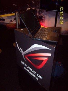La laptop ASUS G750 demostró su poderío en el torneo Republic of Gamers (ROG) - 100_3351_1