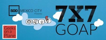 Asiste a la próxima edición 7×7: Geeks on a Plane