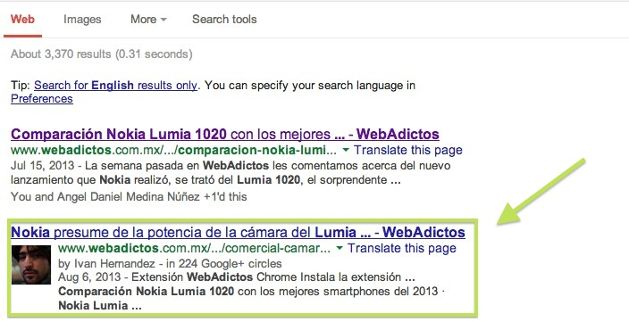 Google+ ahora permite incrustar publicaciones en la web - Autor-Google