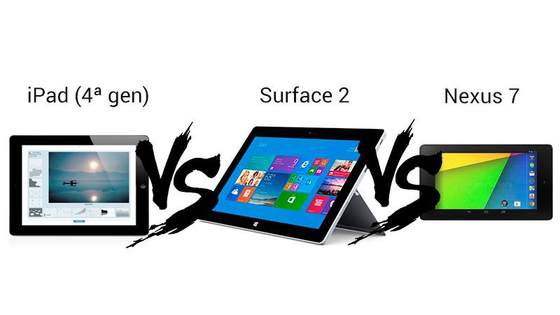 Comparativa: Surface 2 Vs iPad (4ª gen) Vs Nexus 7 (2ª gen) - Comparativa-Surface-21