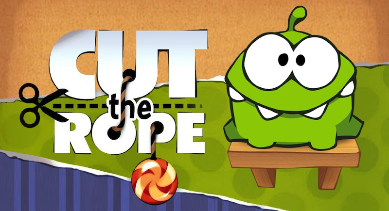 Cut the Rope gratis por tiempo limitado para iPhone e iPad - Cut-The-Rope