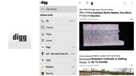 Digg para Android es lanzado oficialmente
