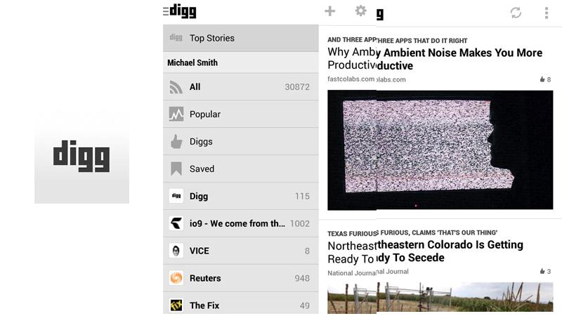 Digg para Android es lanzado oficialmente - Digg-Android