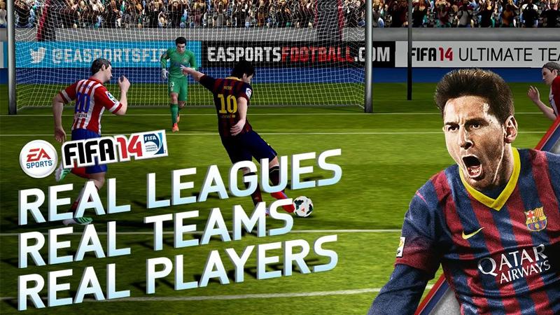 FIFA 14 para iOS y Android disponible para descargar gratis - Fifa-14-ios-android