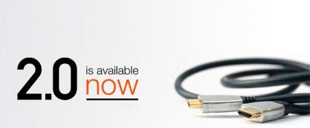 La versión 2.0 de HDMI llega para soportar UltraHD y sonido de Alta Fidelidad