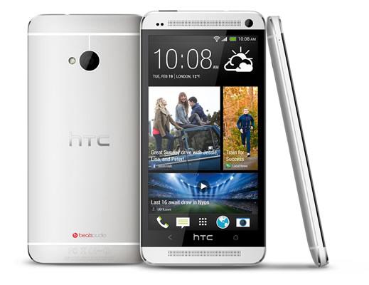 HTC One plata Los mejores celulares del 2013 hasta la fecha