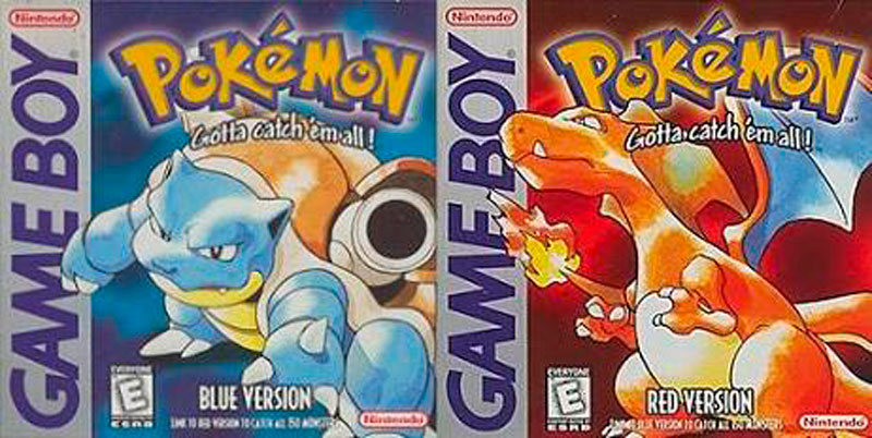 PokemonBR1 Los 10 videojuegos más vendidos de la historia