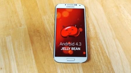 Actualización de Android 4.3 Jelly Bean llegará al Samsung Galaxy S3 y S4 en octubre