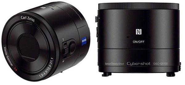 Sony presenta sus nuevos lentes fotográficos para teléfonos móviles - Sony-QX100