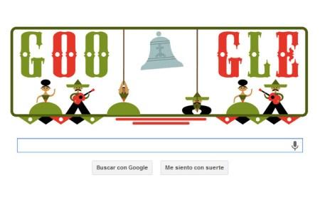 Google presenta Doodle por la Independencia de México