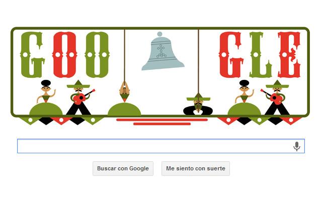Google presenta Doodle por la Independencia de México - doodle-independencia-de-mexico