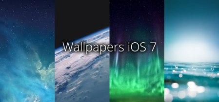 Descargar todos los wallpapers de iOS 7