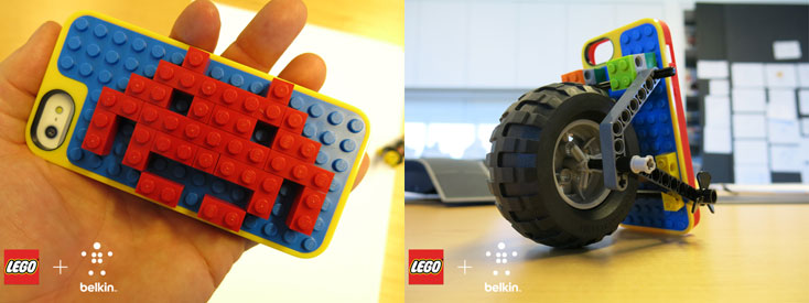 Fundas para iPhone 5 LEGO Builder de Belkin - fundas-lego-iphone