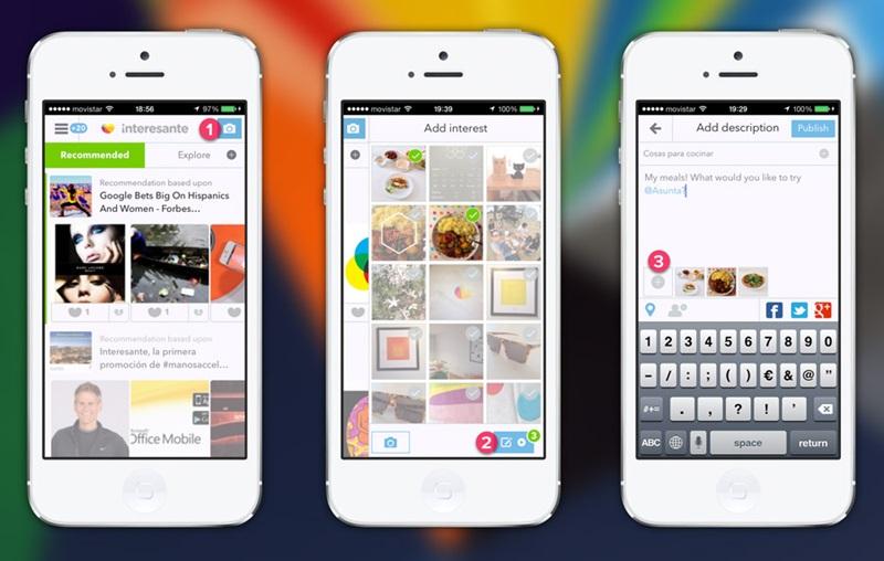 La aplicación de Interesante para iPhone se renueva - interesante-app-iphone