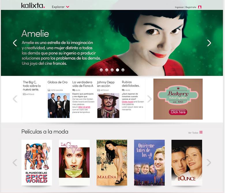 Películas online y series de TV gratis especialmente para mujeres en Kalixta - kalixta-series-tv-gratis