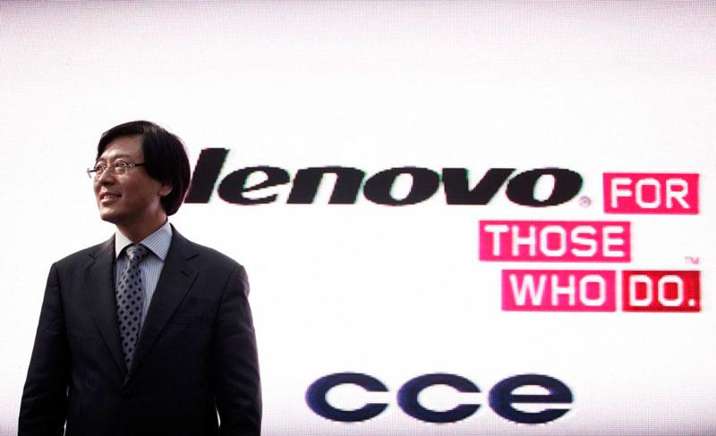 lenovo CEO de Lenovo obtiene cuantioso bono y decide compartirlo con sus trabajadores