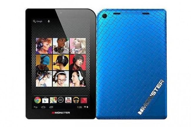 La marca Monster entra al mercado de las tablets - monster-m7