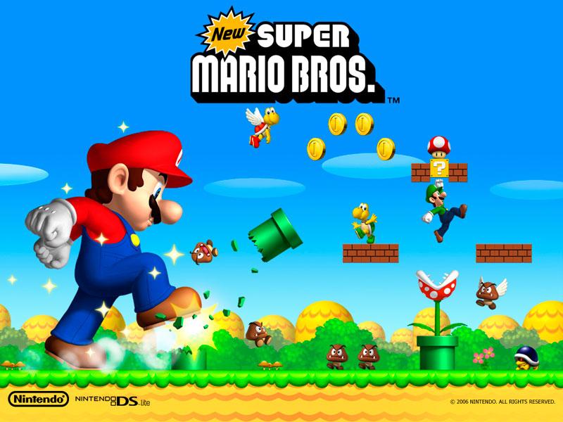 Los 10 videojuegos más vendidos de la historia - new-super-mario-bros-