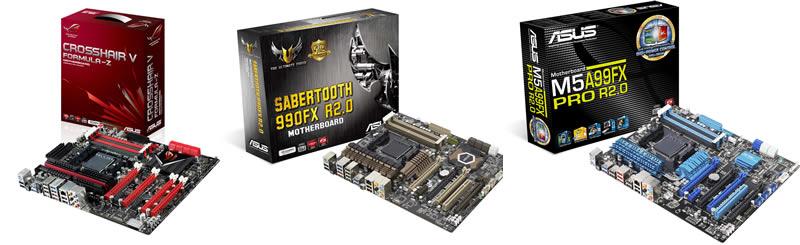 ASUS anuncia soporte completo para los procesadores AMD serie FX-9000 - tarjetas-madre-asus-AMD-FX9000