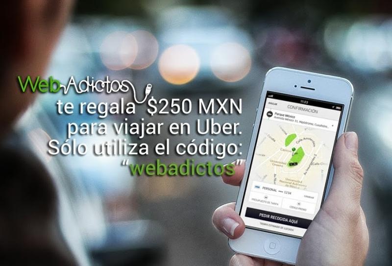 uber codigo webadictos Evita horas al volante y disfruta la experiencia de viajar en un auto de lujo con Uber
