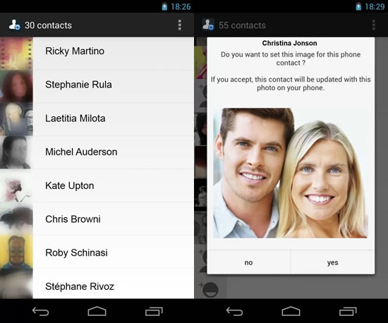 whatsapp contact photo Apps para complementar WhatsApp en Android