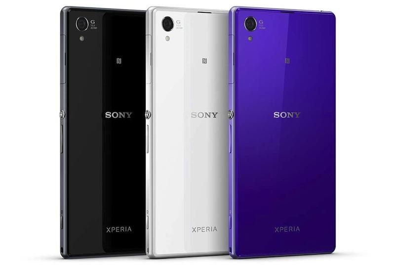 Sony presenta el Xperia Z1 resistente al agua y con cámara de 20 MPX - xperia-Z1-colores