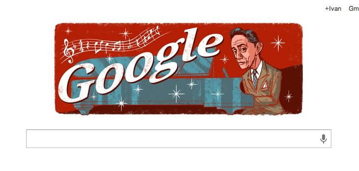 Google conmemora a Agustín Lara con un colorido doodle - Agustin-Lara-Doodle