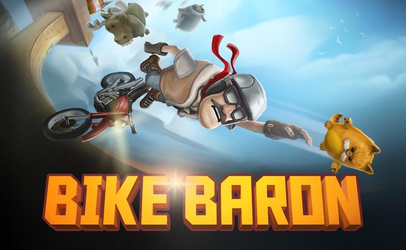 Bike Baron, uno de los mejores juegos de motos para iOS gratis por tiempo limitado - Bike-Baron