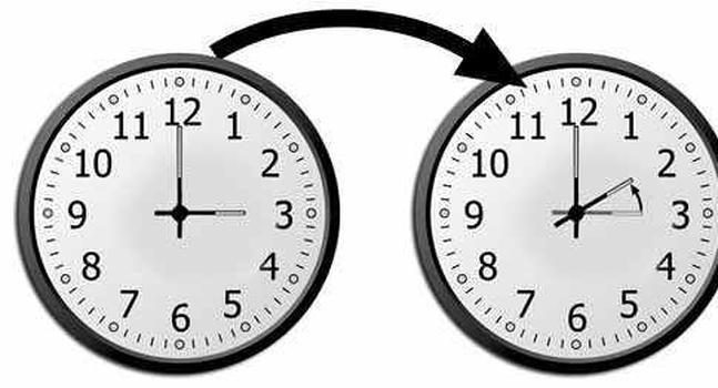 Horario de verano se termina, no te olvides de atrasar tus relojes - Cambio-de-horario