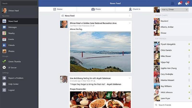 Facebook para Windows 8 y RT ha sido lanzado oficialmente - Facebook-Windows-8-Rt