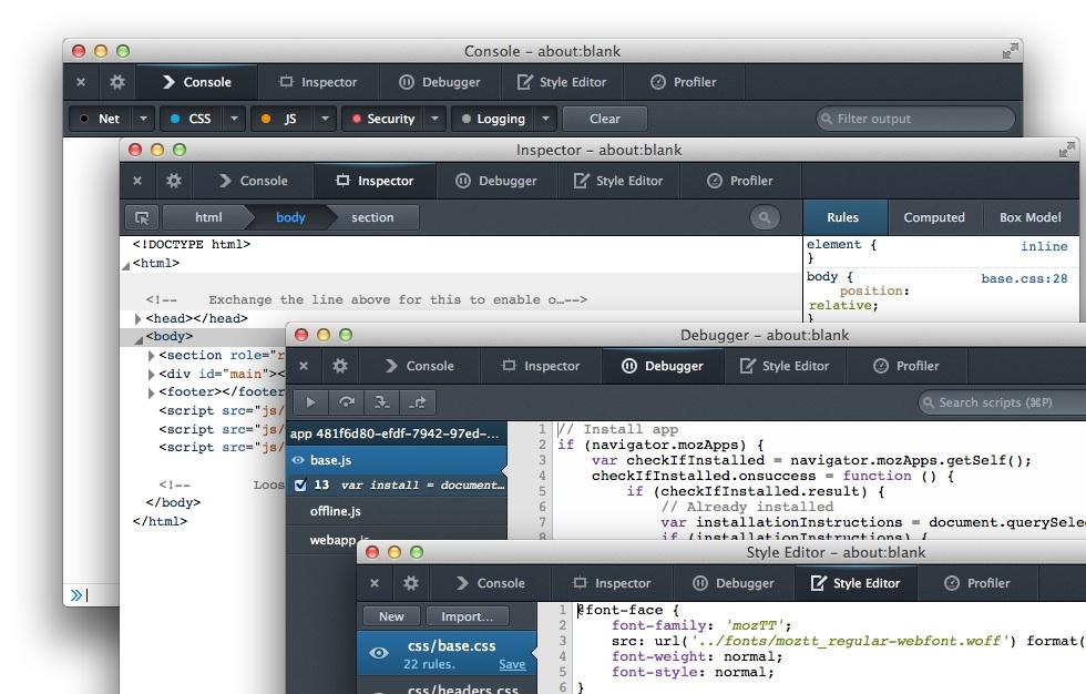 Firefox OS App Manager Mozilla presenta Firefox OS App Manager para desarrollo de aplicaciones