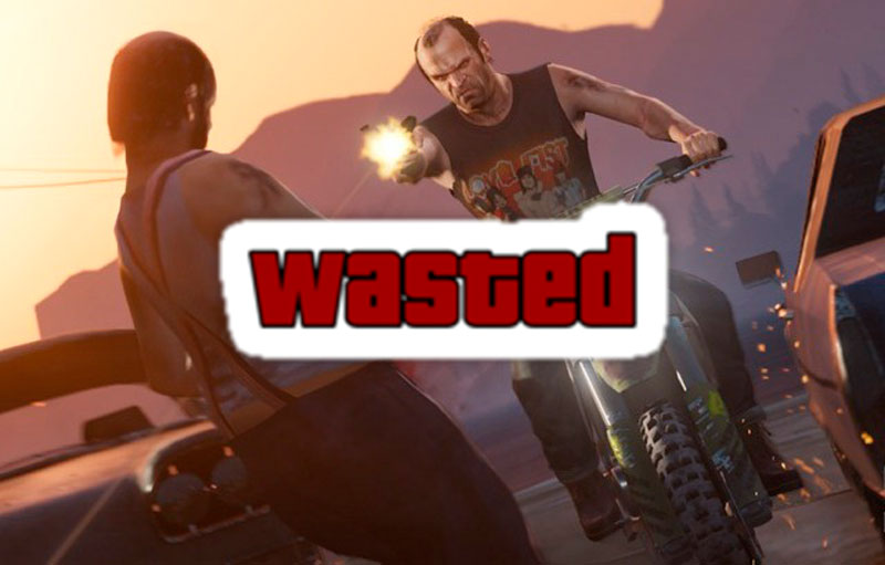 GTA v wasted 100 maneras de morir en Grand Theft Auto 5