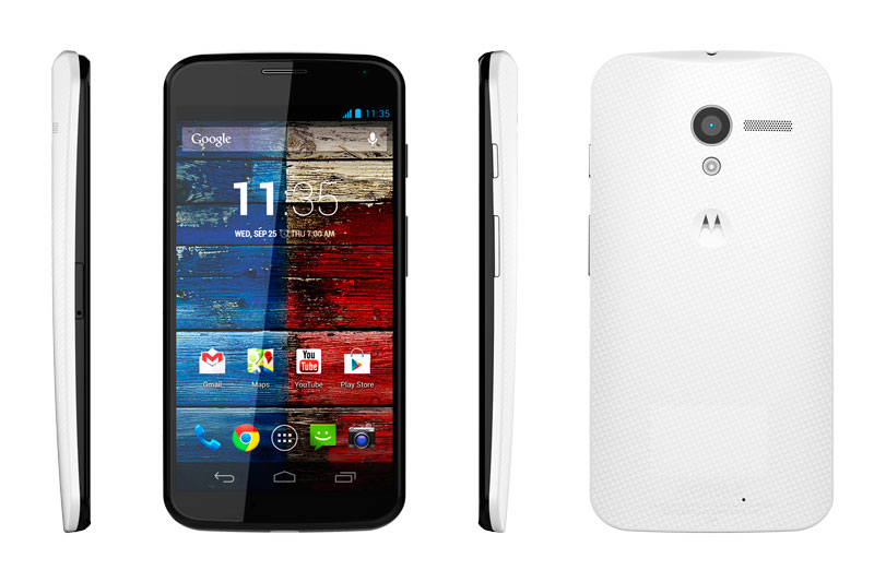 Moto X: el teléfono más inteligente con Android ahora disponible en México - Moto-X1