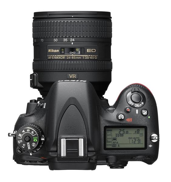 Nikon presenta la nueva cámara Full Frame DSLR Nikon D610 - Nikon_D610_24_85_top_A