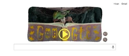 Juega a ser un brujo con el doodle conmemorativo a Halloween de Google