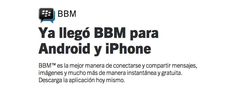BBM para Android y iPhone tuvo más de 10 millones de descargas el primer día - bbm-android-iphone