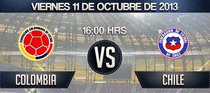 chile vs colombia en vivo Colombia vs Chile en vivo [Eliminatorias Conmebol Brasil 2014]