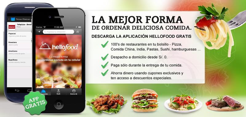 Hellofood: Pide comida a domicilio por internet o desde tu celular en México - comida-domicilio-celular-hellofood