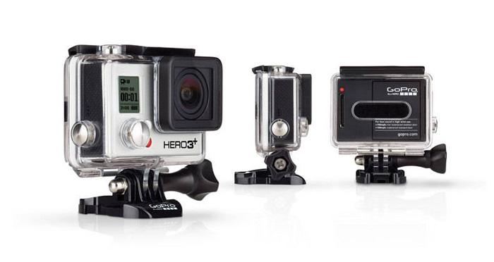 Nueva videocámara GoPro Hero 3+ es capaz de grabar video 4K - gopro-hero3+