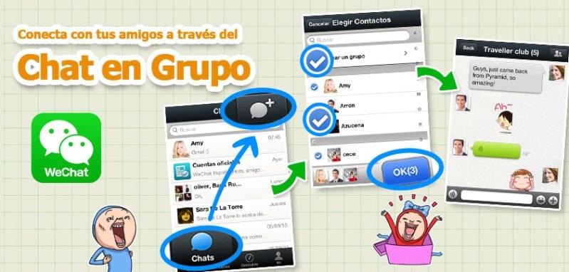 WeChat presenta nuevas características y mayor seguridad - group-chat